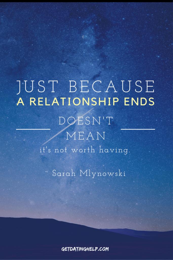 Breakup Quotes - Sarah Mlynowski