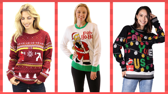 Retro Ugly Christmas Sweaters