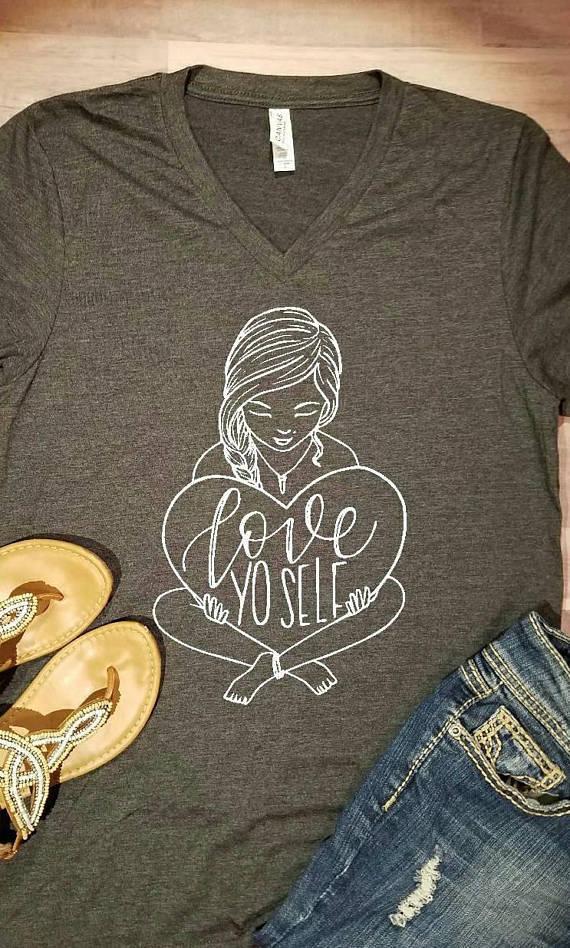 ove Yo Self Shirt by Etsy Seller SapphirePearlDesigns
