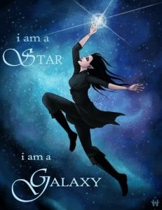 I am a star…. I am a galaxy! ~ From The Traitor Prince by C.J. Redwine